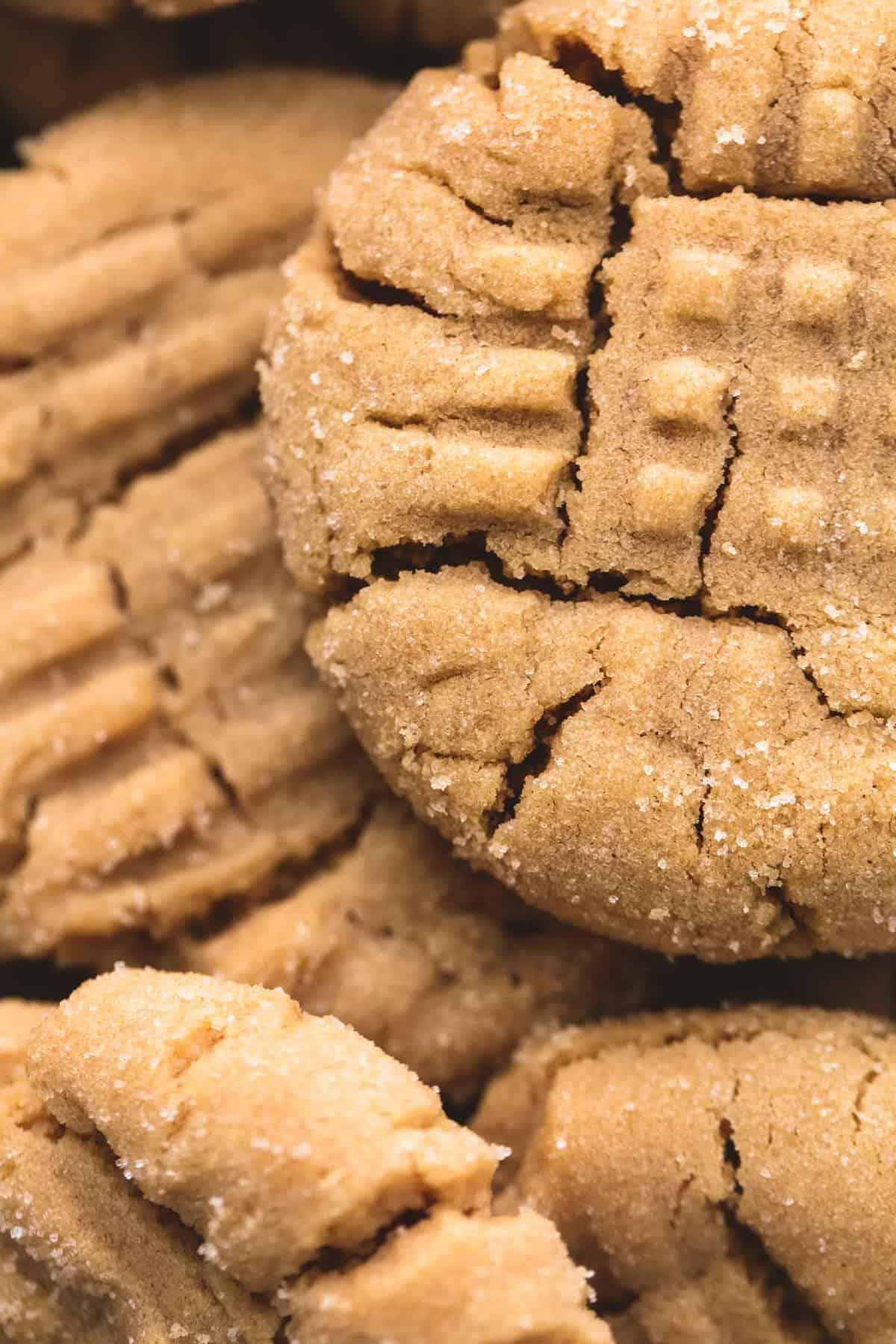 Best Super Soft Peanut Butter Cookies   Creme De La Crumb