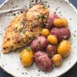 Best easy Instant Pot Chicken and Potatoes recipe   lecremedelacrumb.com