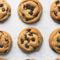 Easy Cookie Butter Chocolate Chip Cookies Recipe   lecremedelacrumb.com