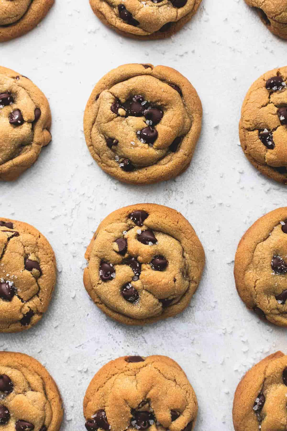 Easy Cookie Butter Chocolate Chip Cookies Recipe | lecremedelacrumb.com