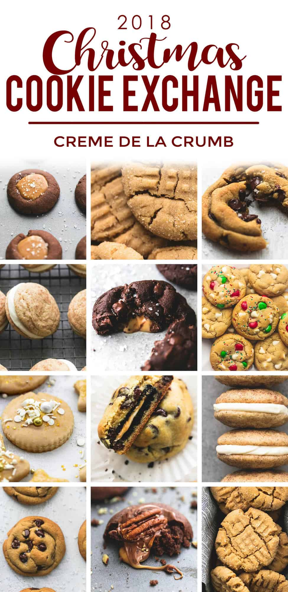 The Best Cookie Exchange recipes 2018 | lecremedelacrumb.com
