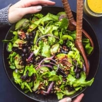 Best Simple Tossed Green Salad