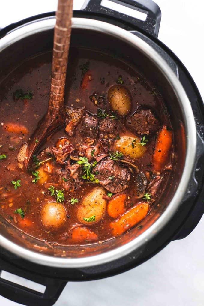 Instant Pot Beef Bourguignon Creme De La Crumb