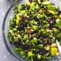 Easy Chopped Asian Salad recipe | lecremedelacrumb.com