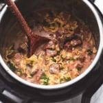 Best Ever Easy Beef Stroganoff Recipe   lecremedelacrumb.com