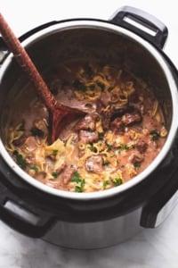 Best Ever Easy Beef Stroganoff Recipe | lecremedelacrumb.com