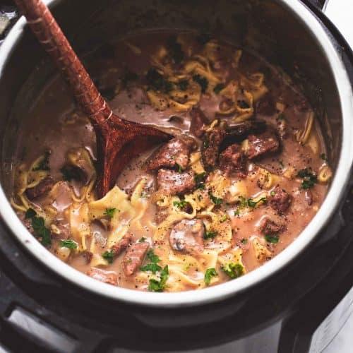 Best Easy Instant Pot Beef Stroganoff Creme De La Crumb