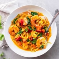 Easy Thai Coconut Curry Recipe | lecremedelacrumb.com