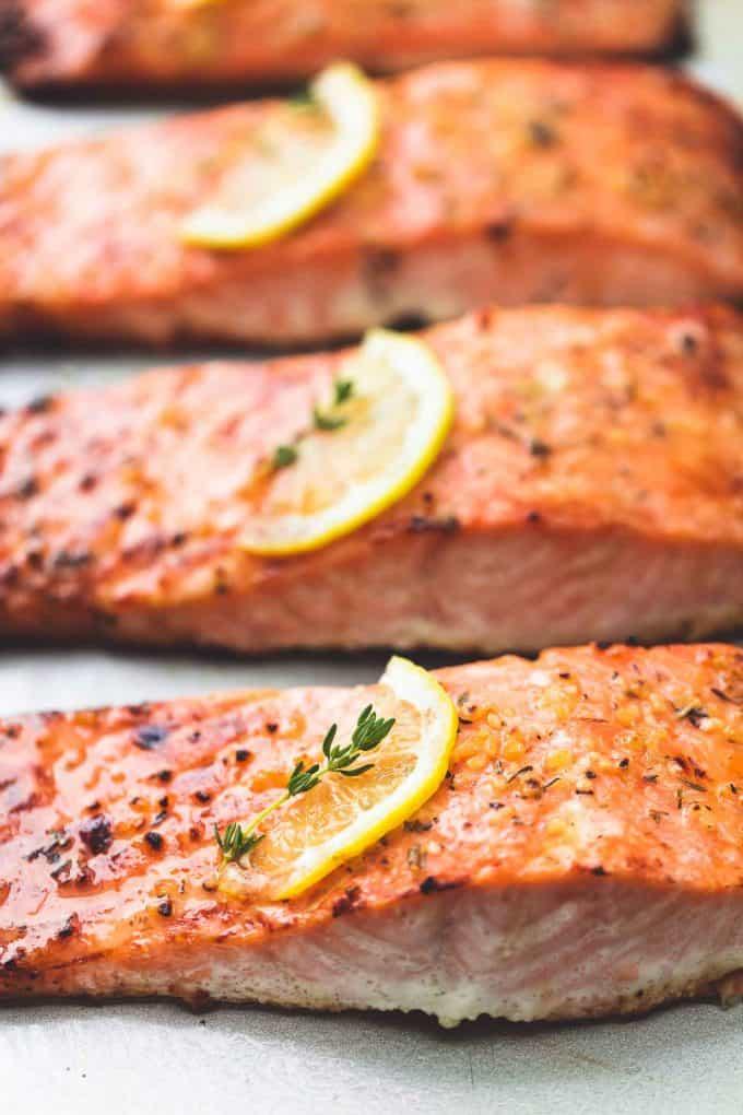 Best Easy Healthy Baked Salmon Creme De La Crumb