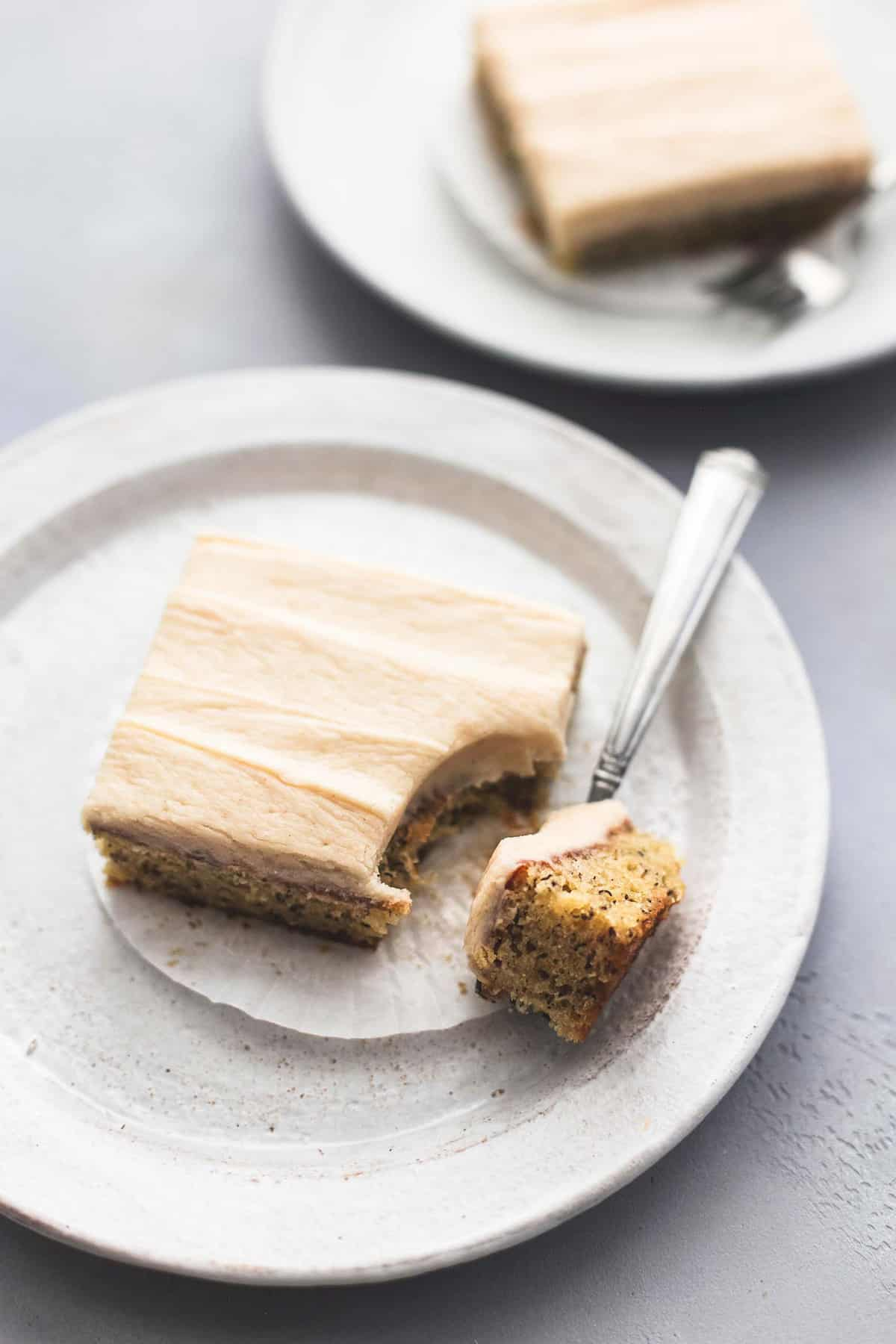 Banana Bars with Cream Cheese Frosting recipe | lecremedelacrumb.com