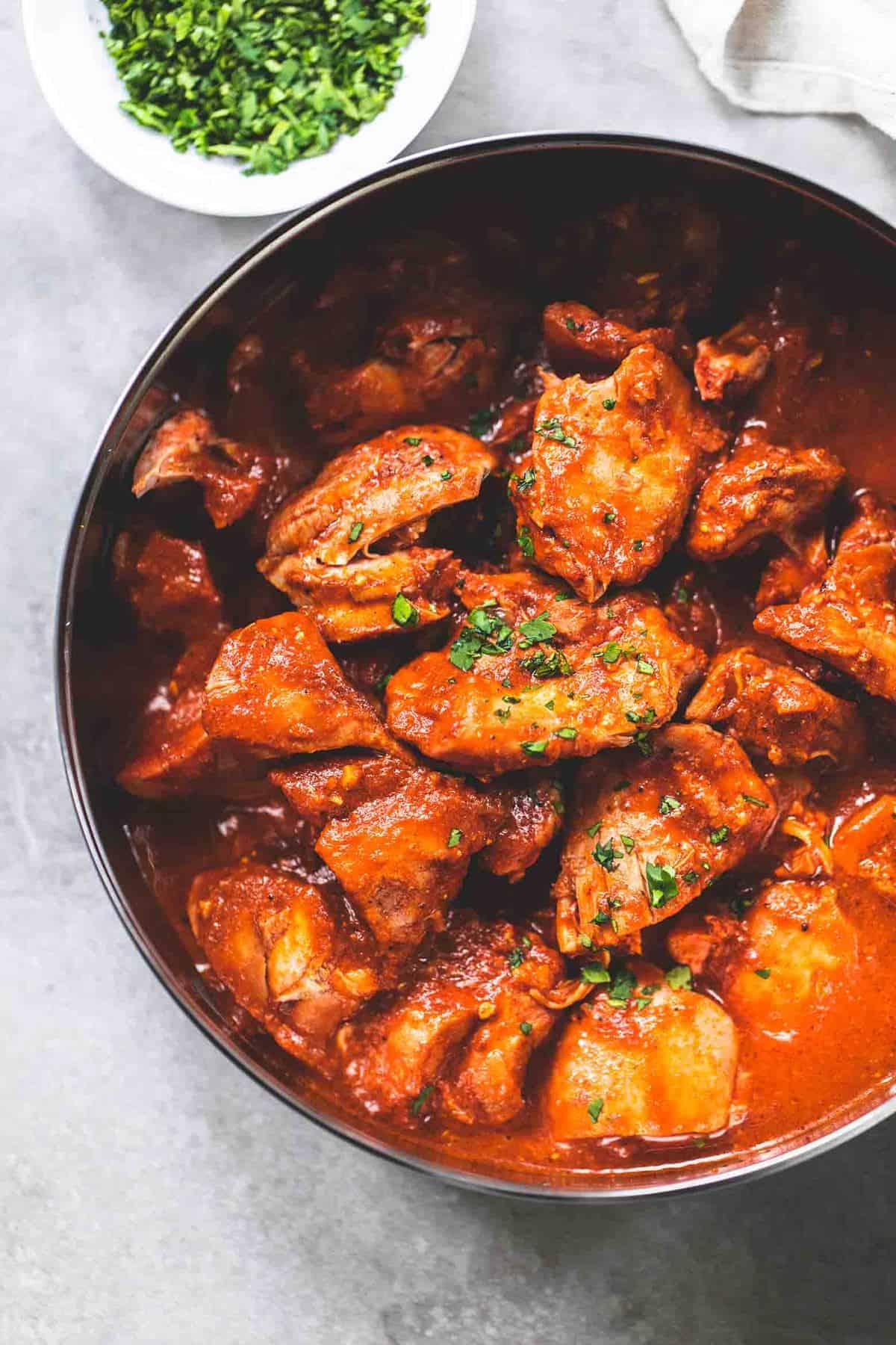 Instant Pot Chicken Tikka Masala easy dinner recipe | lecremedelacrumb.com