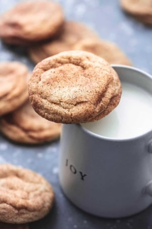 BEST Soft and Chewy Snickerdoodles easy cookie recipe   lecremedelacrumb.com