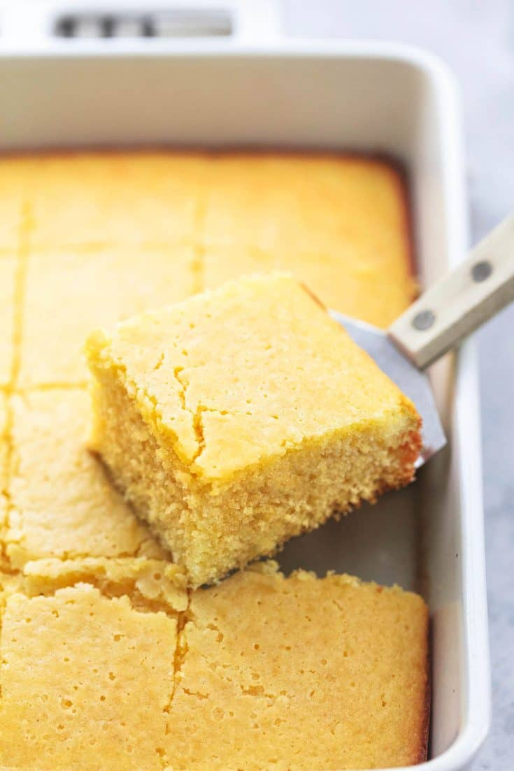 BEST Super Moist Cornbread Recipe