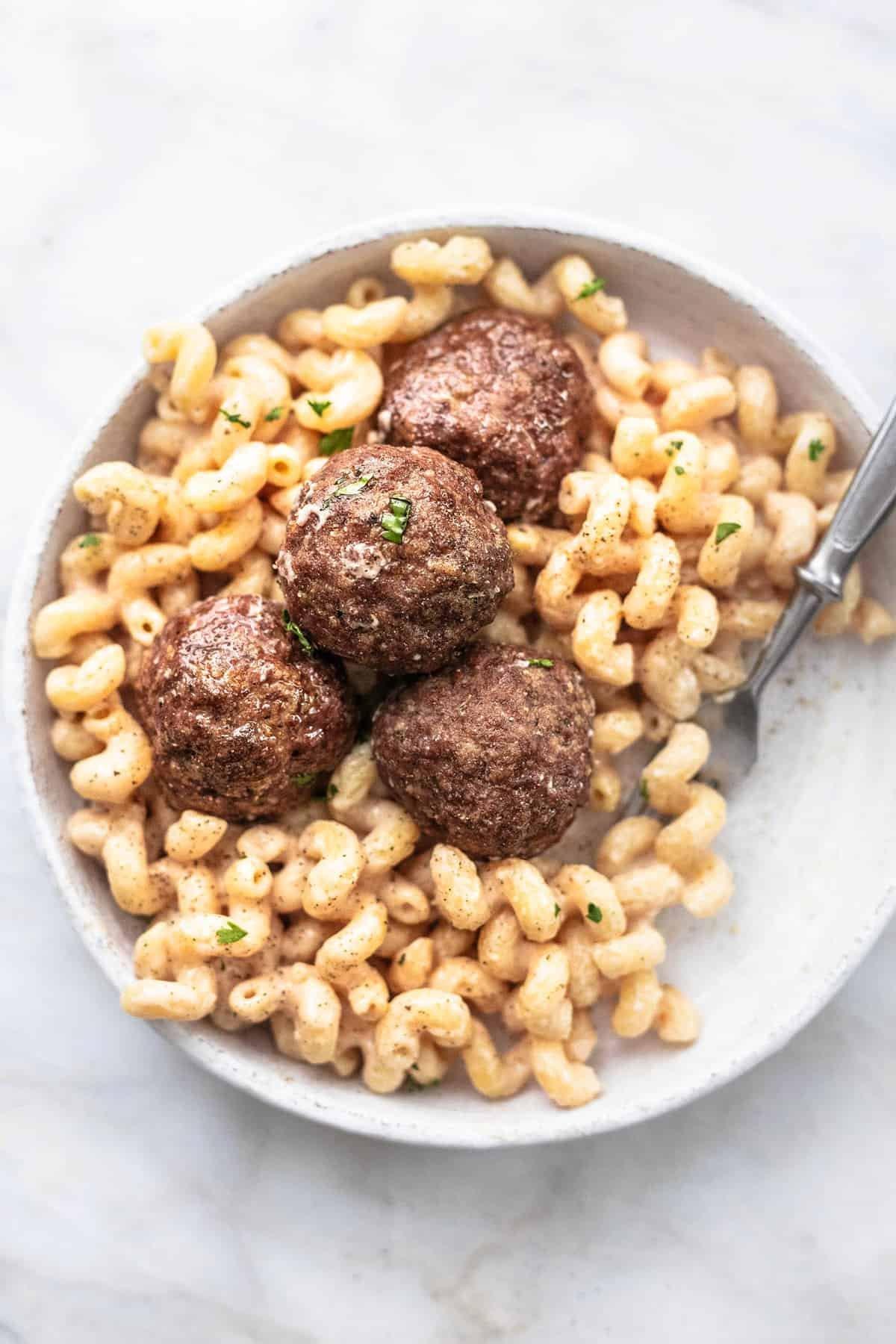 Swedish Meatball Pasta Creme De La Crumb