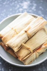 Homemade Easy Tamales recipe | lecremedelacrumb.com