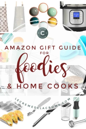2019 AMAZON HOLIDAY GIFT GUIDE FOR FOODIES AND HOME COOKS | lecremedelacrumb.com