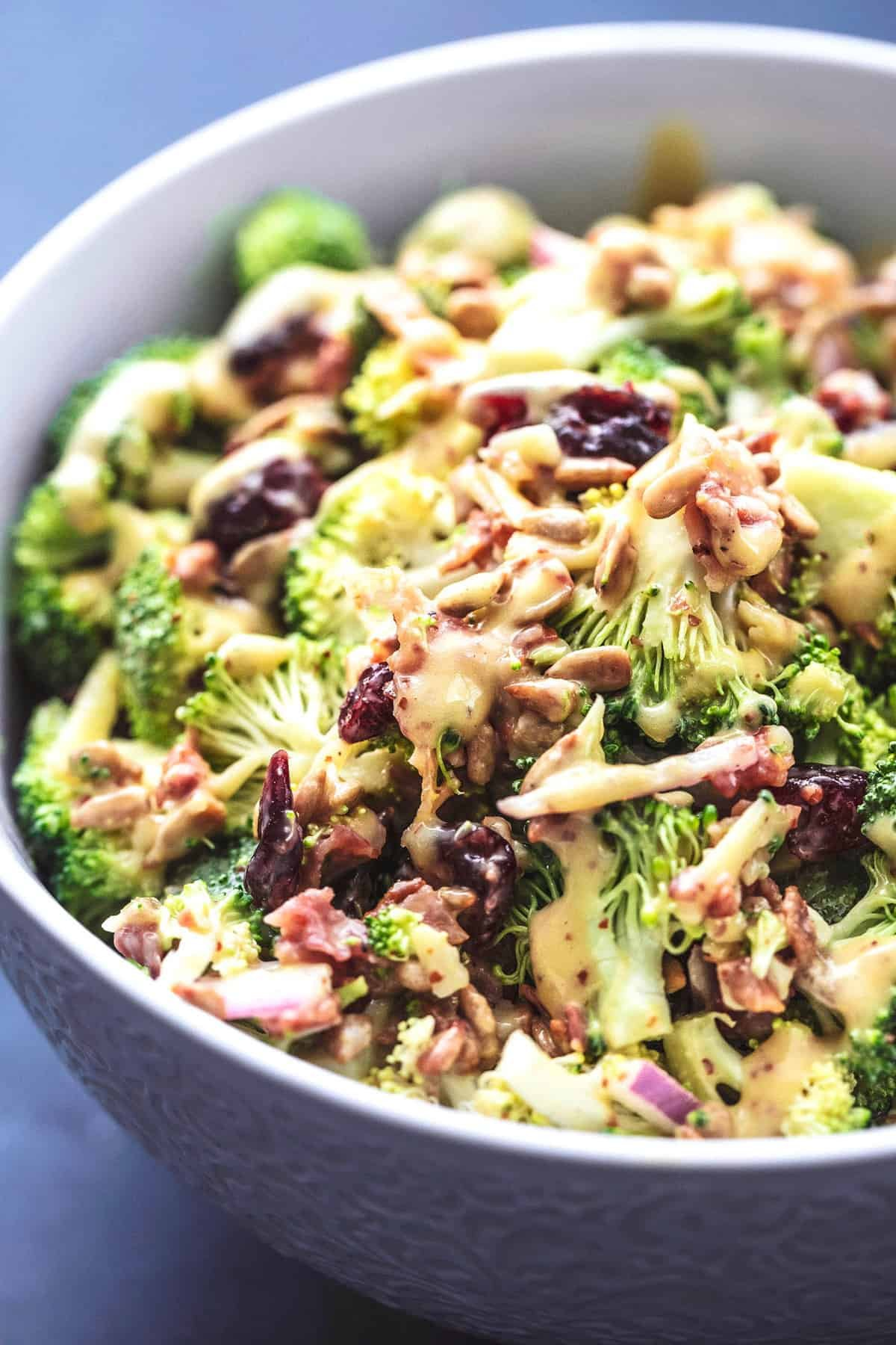 Best Broccoli Salad Recipe No Mayo Creme De La Crumb