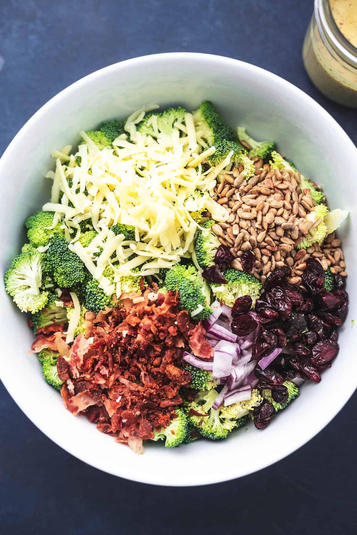 Best Broccoli Salad Recipe No Mayo Creme De La Crumb
