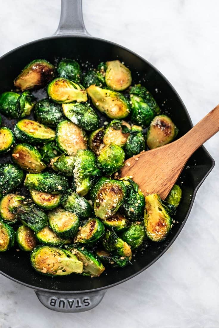Sauteed Brussels Sprouts Recipe
