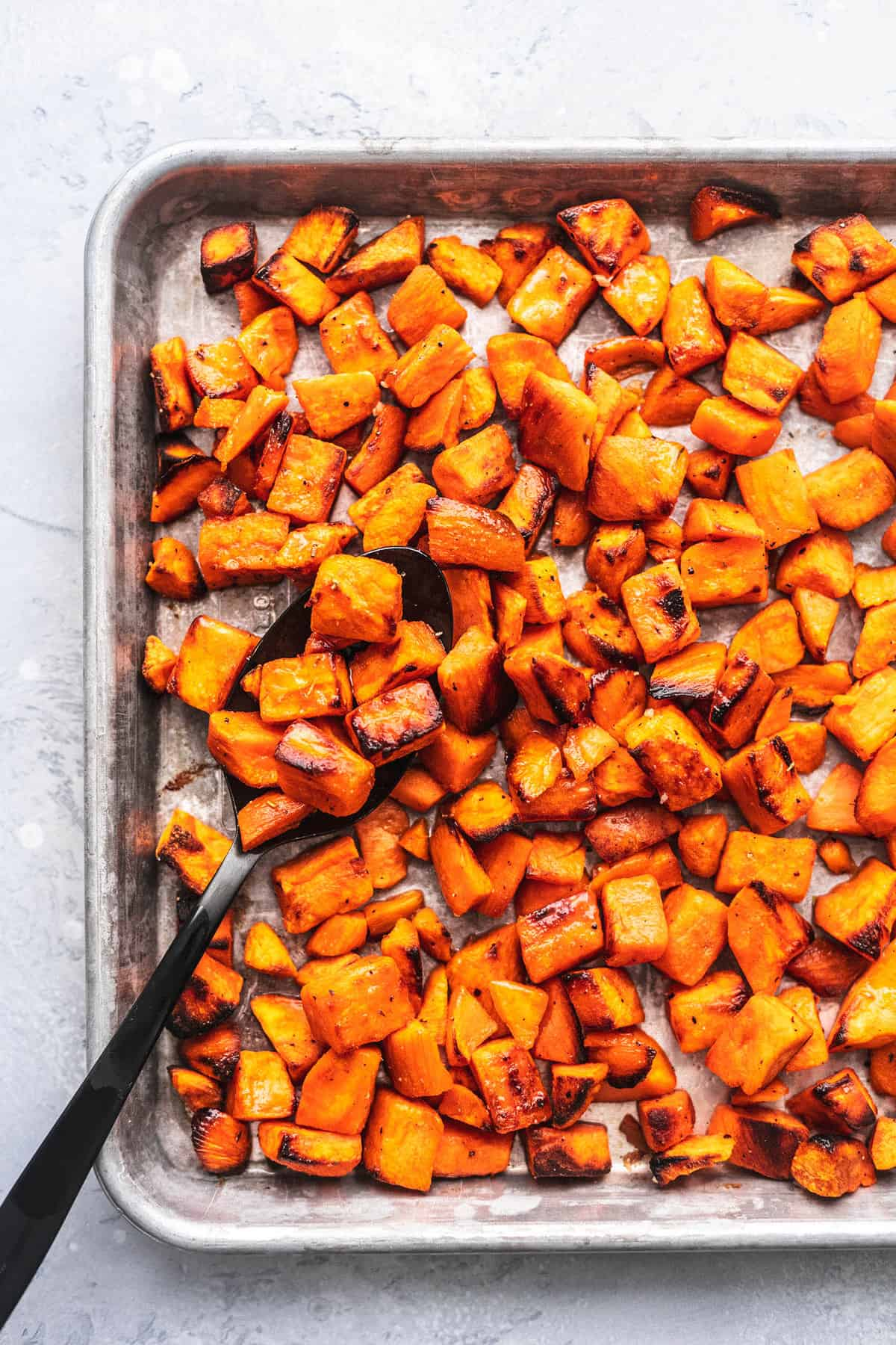 Roasted Sweet Potatoes Creme De La Crumb