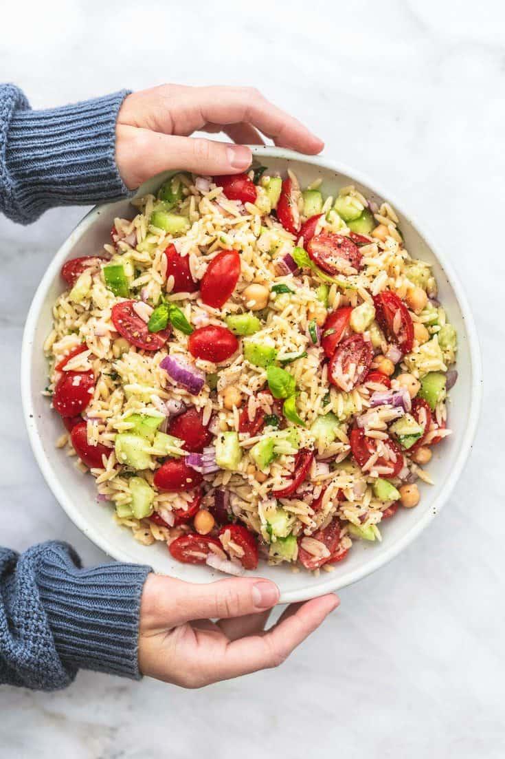Best Italian Orzo Salad