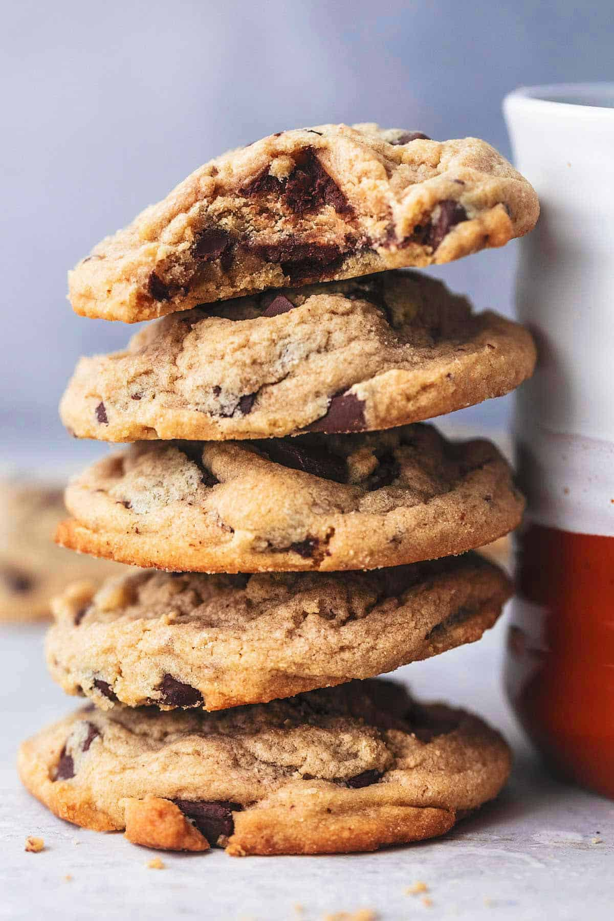 Peanut Butter Chocolate Chunk Cookies Creme De La Crumb