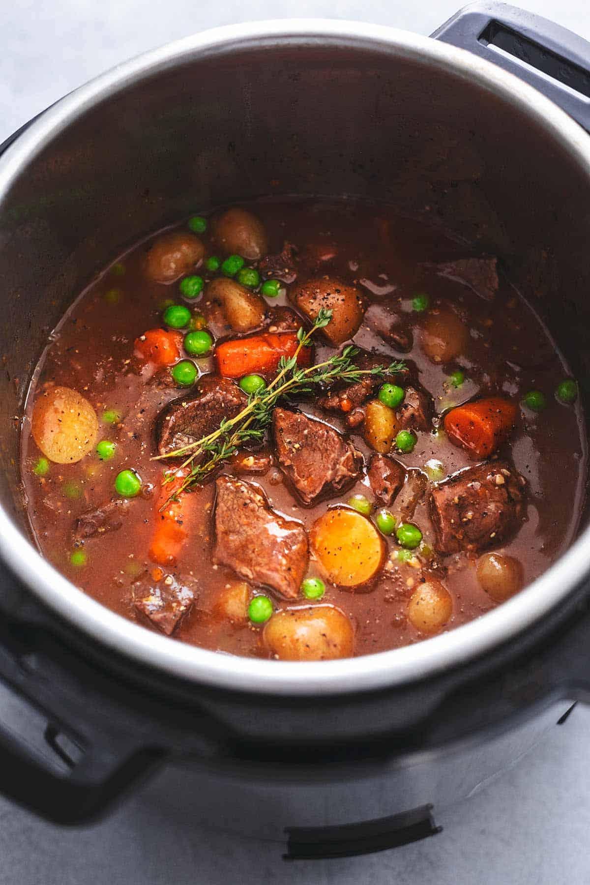 Instant Pot Beef Stew Creme De La Crumb