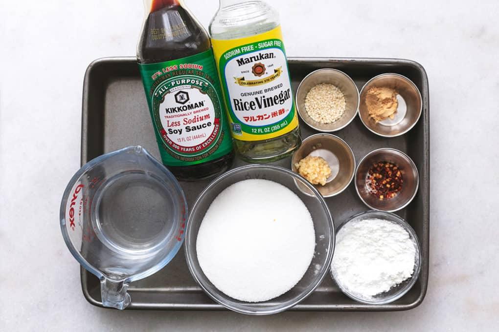 ingredients needed for japanese teriyaki sauce